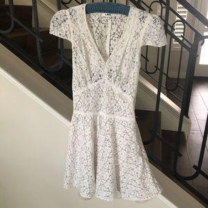 LNA lace dress